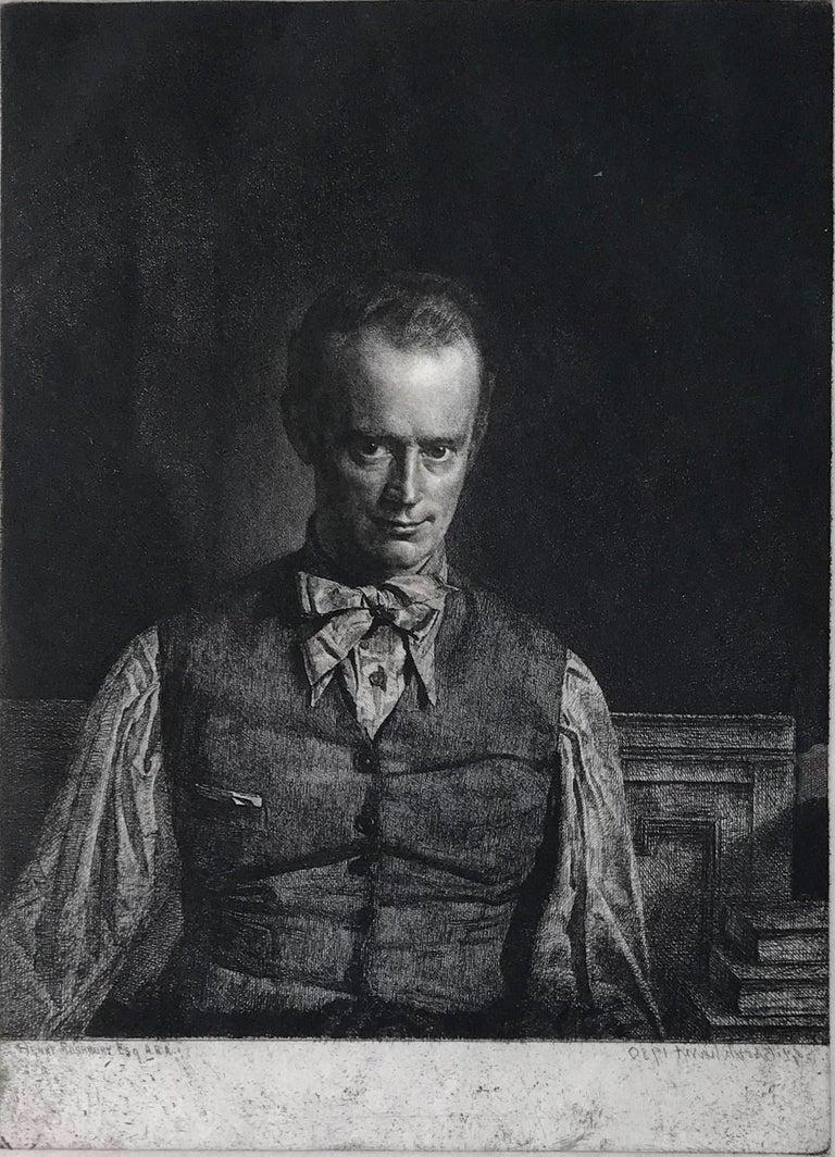 Henry Rushbury, A.R.A., R.E., R.W.S., No. 2 - Print by Gerald Leslie Brockhurst