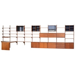 Gerald McCabe Barzilay Wall Unit, Sold by Component