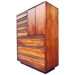 Gerald McCabe Highboy Dresser, California Design