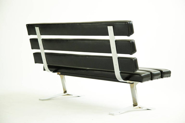American Gerald McCabe Settee or Bench For Sale