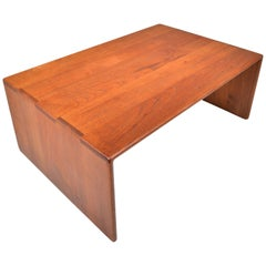 Gerald McCabe Solid Teak Coffee Table