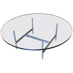 "Gerald McCabe Studio ""H"" Base Coffee Table, 1960s"