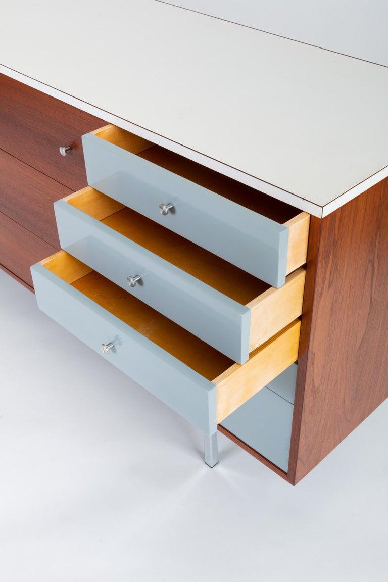Gerald McCabe Twelve-Drawer Dresser with Laminate Top For Sale 3