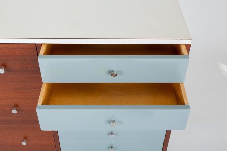 Gerald McCabe Twelve-Drawer Dresser with Laminate Top For Sale 4