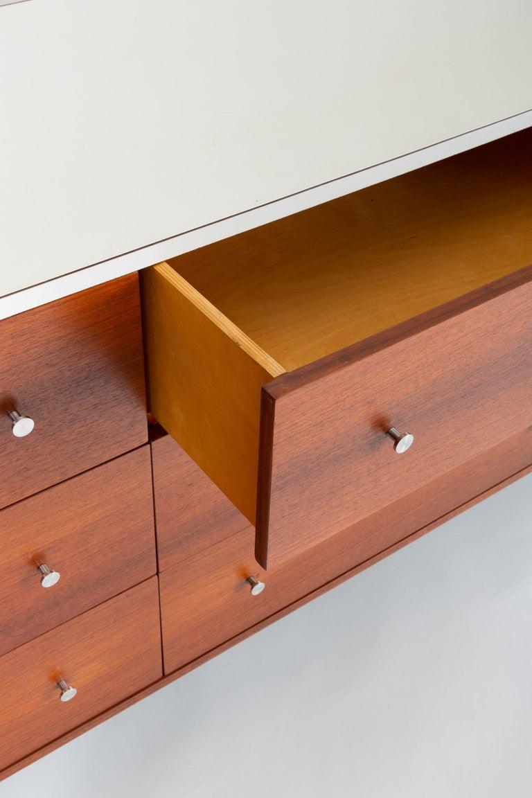 Gerald McCabe Twelve-Drawer Dresser with Laminate Top For Sale 5
