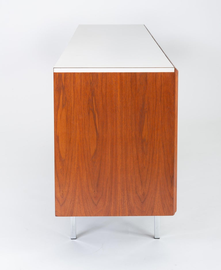 Steel Gerald McCabe Twelve-Drawer Dresser with Laminate Top For Sale