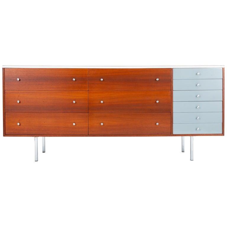 Gerald McCabe Twelve-Drawer Dresser with Laminate Top For Sale
