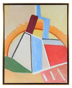 Bright Abstract Oil Painting, 2010