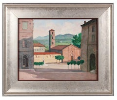 """""""Sarteano, Italy"""" Cityscape Painting in Oil"""