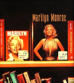 Forever Marilyn, Painting, Acrylic on Wood Panel