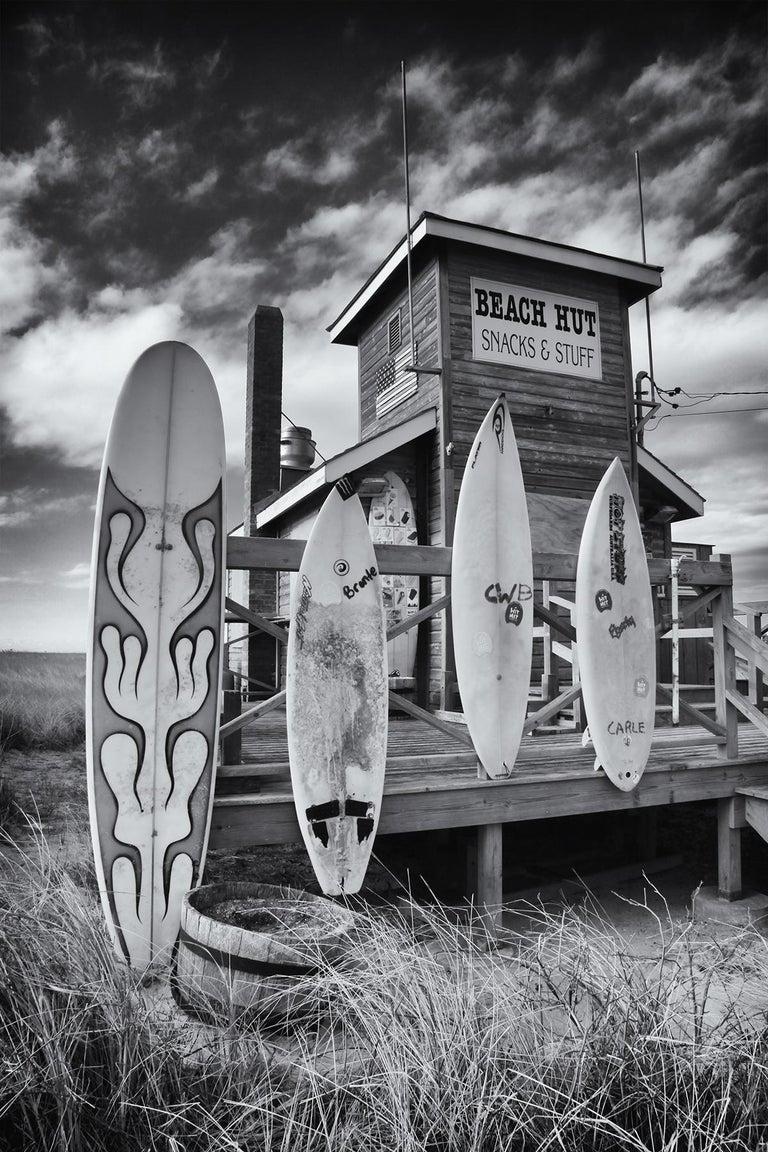 Gerard Giliberti Landscape Photograph - Amagansett Beach Hut
