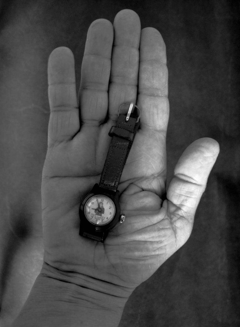 Gerard Giliberti Black and White Photograph - HAND: Watch