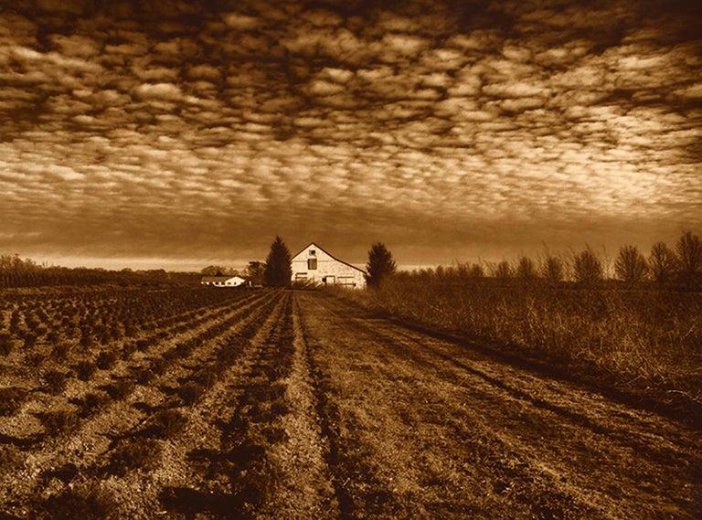 Gerard Giliberti Landscape Photograph - The Flag House