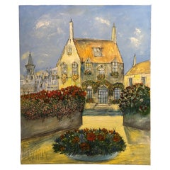 "Gerard Gouvrant '1946-', ""Bruges"" Painting"