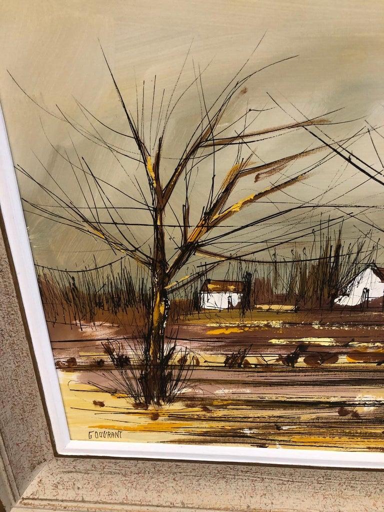 Oiled Gerard Gouvrant,