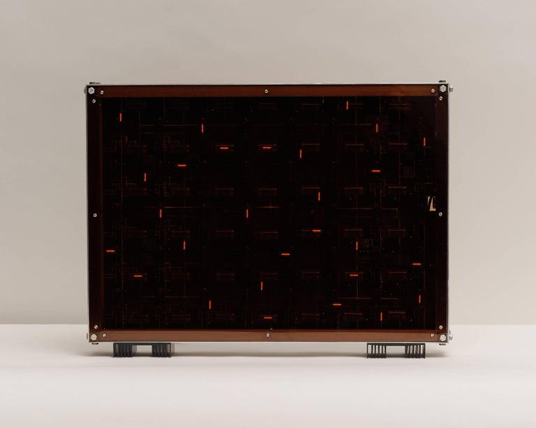 This series by Gérard Haas is many things at once, functional and Avant Garde, elegant and expressive, thanks to the artist's surprising use of reclaimed materials. Finding beauty in discarded computer equipment (amid the anxiety of the computer's