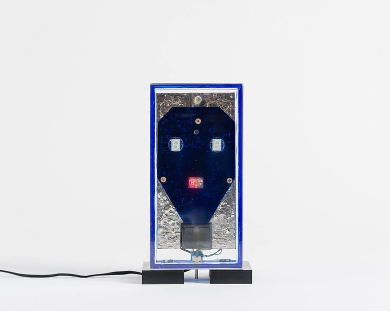 This series by Gérard Haas is many things at once--functional and Avant Garde, elegant and expressive thanks to the artist's surprising use of reclaimed materials. Finding beauty in discarded computer equipment (amid the anxiety of the computer's