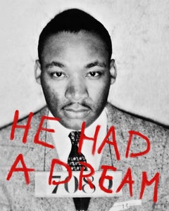 He Had a Dream - Giclée Print on Canvas - 48 x 38  in.