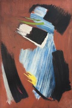 Gerard Schneider / Untitled / 1954 / oil on canvas