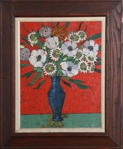 Flower Bouquet, Still Life Oil Painting by Gerard Sebastian