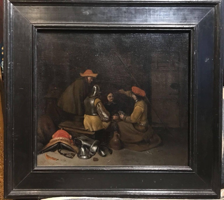 Gerard ter Borch the Younger Interior Painting - The Card Game