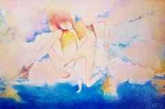 Gerard Tunney, Dancers on Tour, Original impressionistic painting