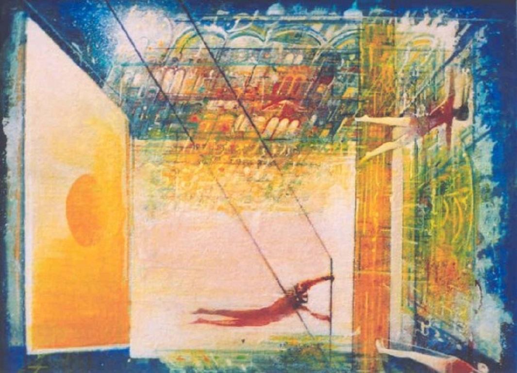 Gerard Tunney, Trapeze, Original still-life painting