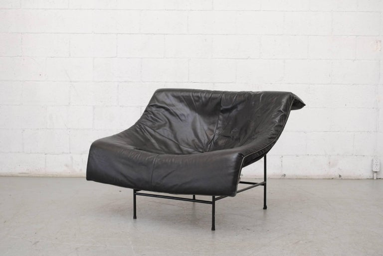 Mid-Century Modern Gerard Van Den Berg Butterfly Lounge Chair For Sale