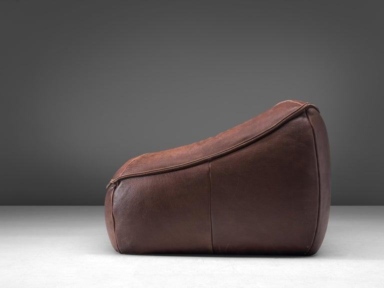 Late 20th Century Gerard Van Den Berg for Monti 'Ringo' Sofa in Buffalo Leather For Sale