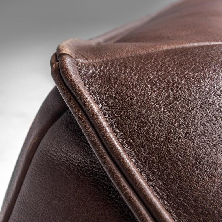 Gerard Van Den Berg for Monti 'Ringo' Sofa in Buffalo Leather For Sale 1
