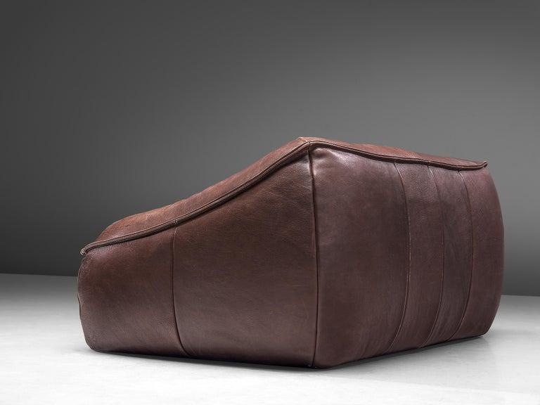 Gerard Van Den Berg for Monti 'Ringo' Sofa in Buffalo Leather For Sale 2