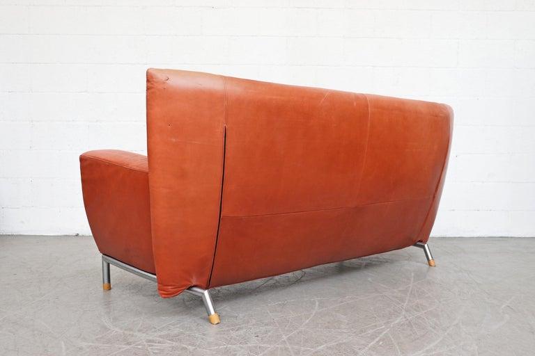 Dutch Gerard van den Berg for Montis Leather Sofa For Sale