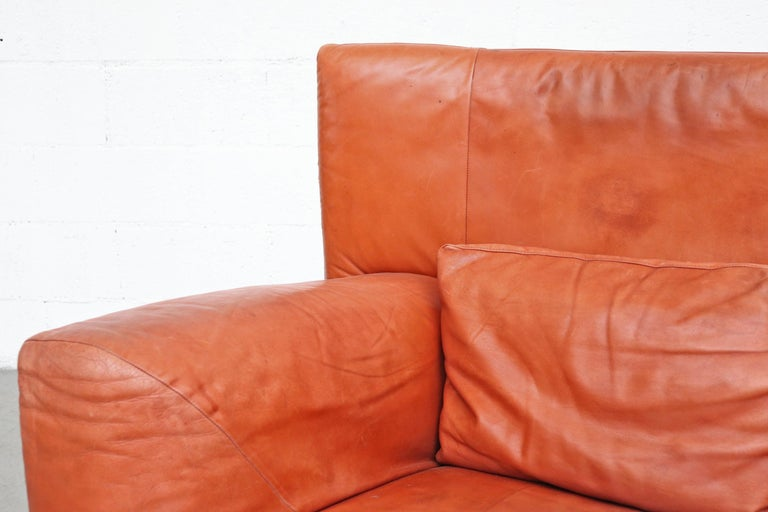 Late 20th Century Gerard van den Berg for Montis Leather Sofa For Sale