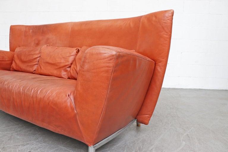 Gerard van den Berg for Montis Leather Sofa For Sale 1