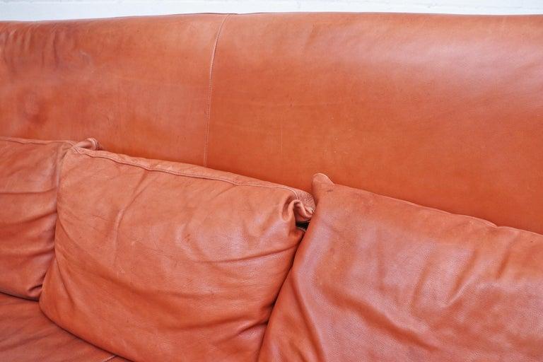 Gerard van den Berg for Montis Leather Sofa For Sale 2