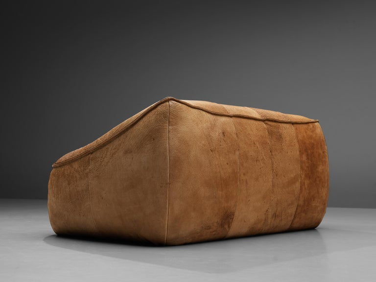 Late 20th Century Gerard Van Den Berg for Montis 'Ringo' Sofa in Patinated Leather For Sale