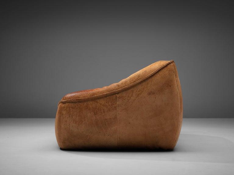 Gerard Van Den Berg for Montis 'Ringo' Sofa in Patinated Leather For Sale 2