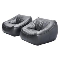 Gerard van den Berg Ringo Lounge Chairs Montis, 1970