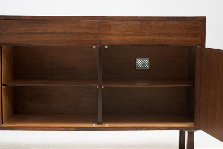 Gerardo de Barros, Buffet / Side Board, Jacaranda Wood, Brazil, 1956 For Sale 2