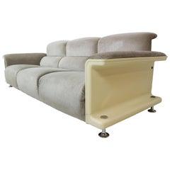 Gerd Lange for t'Spectrum BZ29, Three-Seat Sofa, 1970
