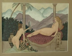 Venus and Servant in the Exotic Palace