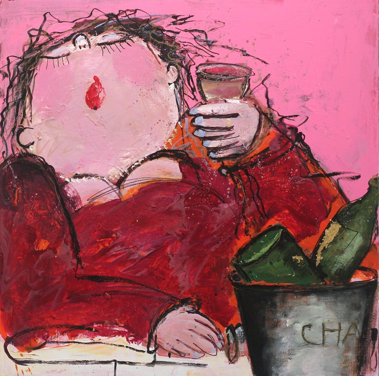 Gerdine Duijsens Interior Painting - Wilma