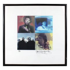 Gered Mankowitz, Exclusive Lenticular Print Jimi/Keith/Mick/Oasis, 2004