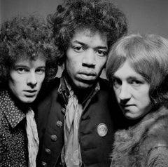 Jimi Hendrix Experience, London, 1967