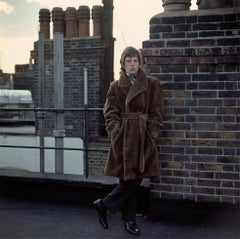 Mick Jagger, on roof