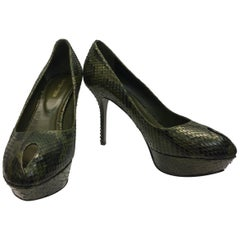 73234297d1 Vintage Sergio Rossi Shoes - 54 For Sale at 1stdibs