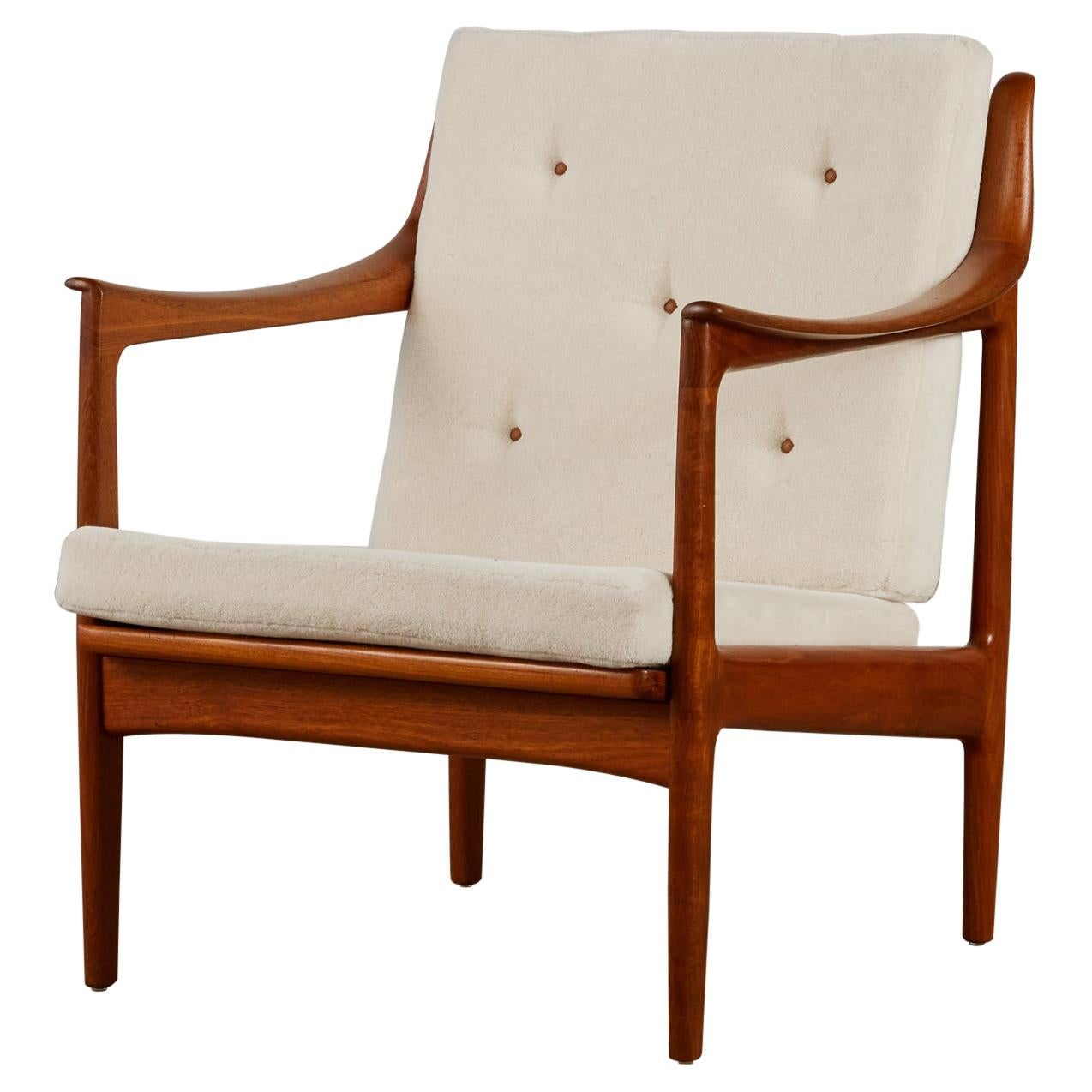 Gerhard Berg Lounge Chair for Westnofa