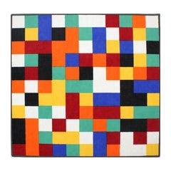 "Gerhard Richter - ""1024 Colors"" - Printed fine Felour from ""Vorwerk"""