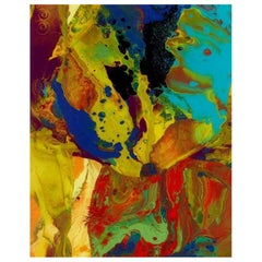 Gerhard Richter Original Limited Edition P9 Bagdad Print, 2014