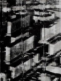 City  Stadt - German Art, Post War, Strong Screenprint